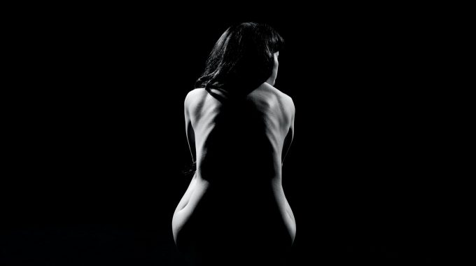 Grayscale Photography Of Woman Naked